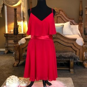 Christina Wu Red Special Occasion Dress